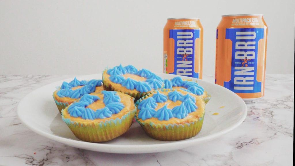 Irn-Bru cupcakes